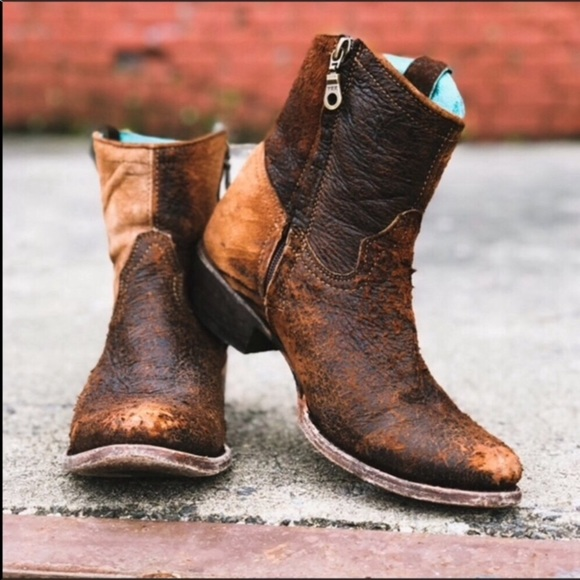 Corral Shoes | Lambskin Distressed